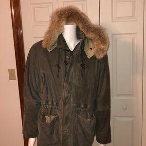 Vintage M Julian Adventures Leather Winter Jacket